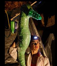 Plastic Seahorse Puppet
